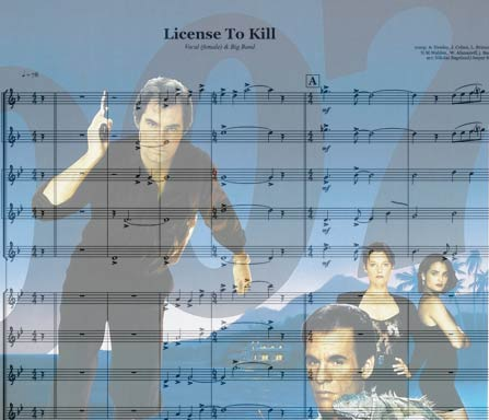 Preview License To Kill Bigband Score here