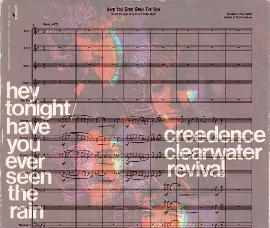 Preview Have You Ever Seen the Rain Bigband Score here