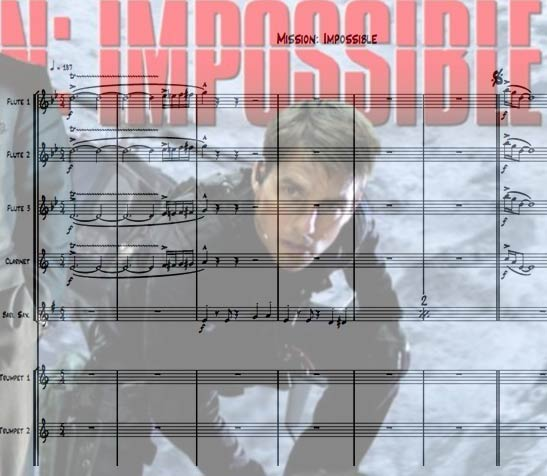 Preview Mission Impossible Bigband Score here
