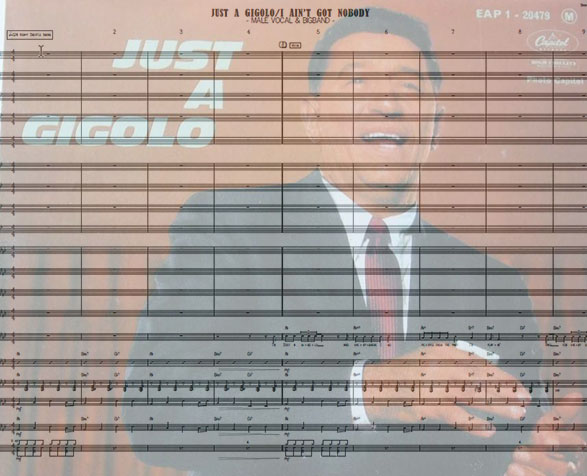 Preview Just A Gigolo Bigband Score here