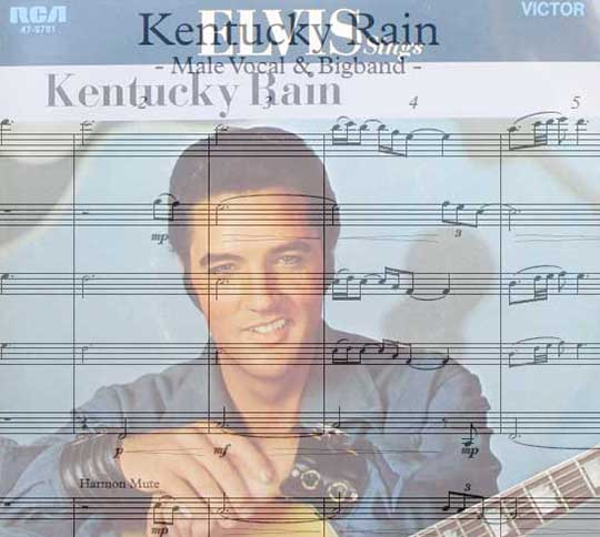 Preview Kentucky Rain Bigband Score here