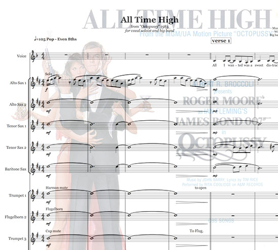 Preview All Time High Bigband Score here
