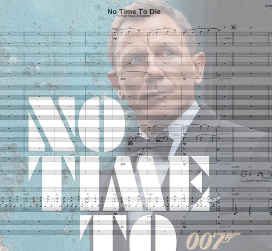 Preview No Time To Die Bigband Score here