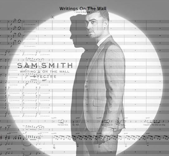 Preview Writings On The Wall Bigband Score here