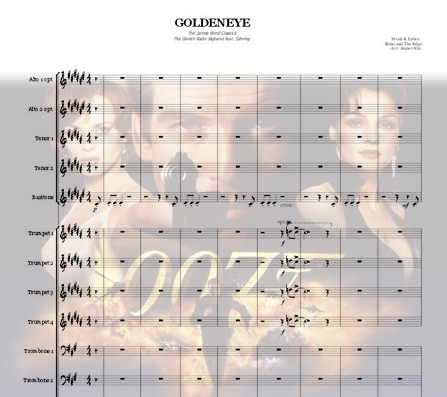 Preview GoldenEye Bigband Score here