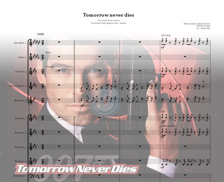 Preview Tomorrow Never Dies Bigband Score here