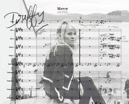 Preview Mercy (by Duffy) Bigband Score here