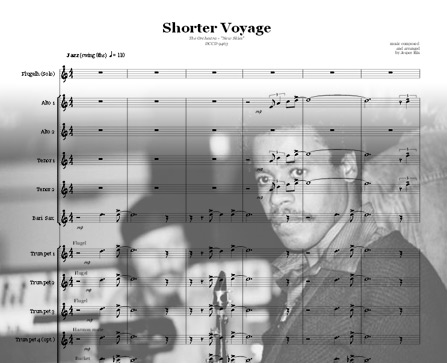 Preview Shorter Voyage Bigband Score here