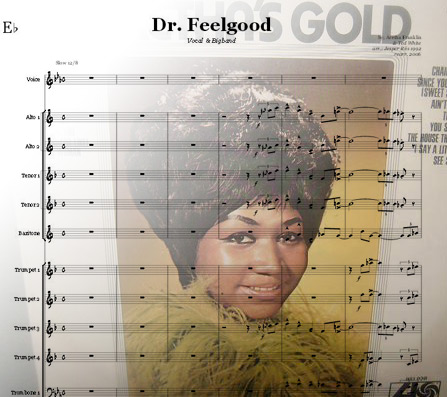 Preview Dr. Feelgood Bigband Score here