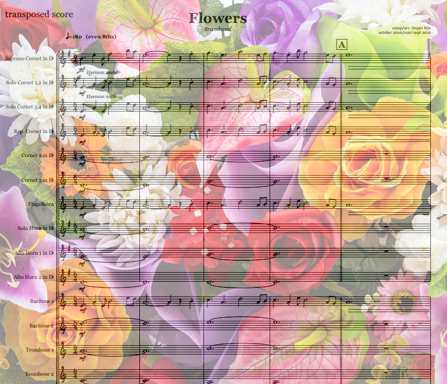 Preview Flowers Bigband Score here