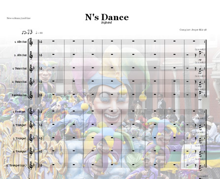 Preview N's Dance Bigband Score here