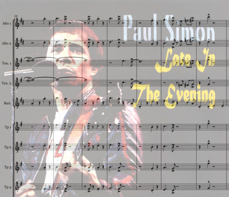 Preview Late in the evening Bigband Score here