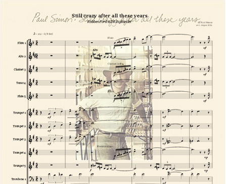 Preview Still Crazy After All These Years Bigband Score here