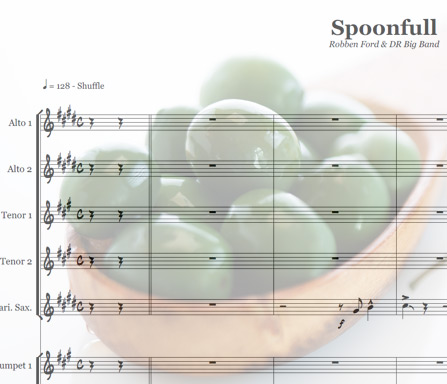 Preview Spoonful Bigband Score here