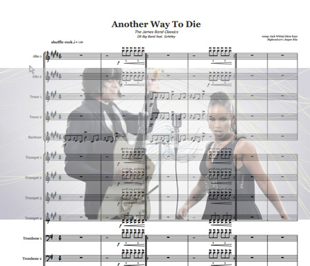 Preview Another Way To Die Bigband Score here