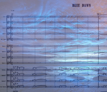 Preview Blue Dawn Bigband Score here