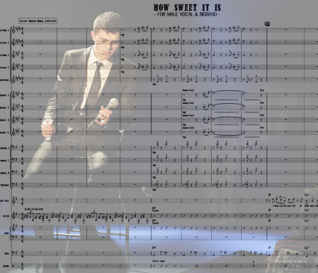 Preview How Sweet It Is Bigband Score here