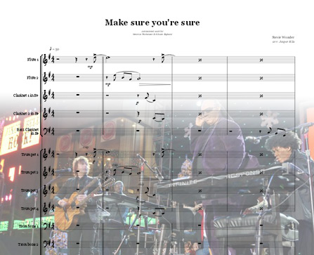 Preview Make sure you're sure Bigband Score here