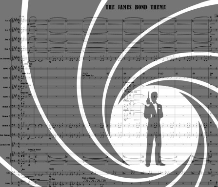 Preview James Bond Theme Bigband Score here
