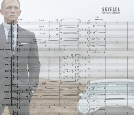 Preview Skyfall Bigband Score here