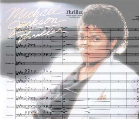 Preview Thriller Bigband Score here