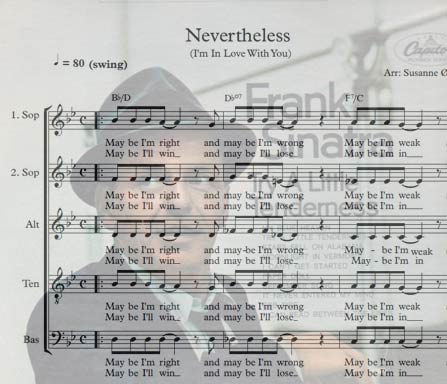 Preview Nevertheless Bigband Score here