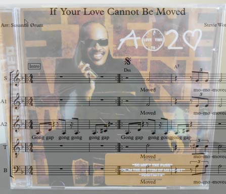 Preview If Your Love Cannot Be Moved Bigband Score here
