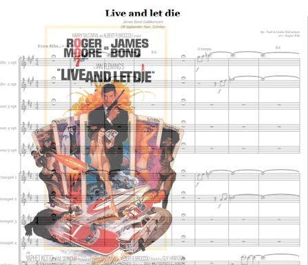 Preview Live and Let Die Bigband Score here
